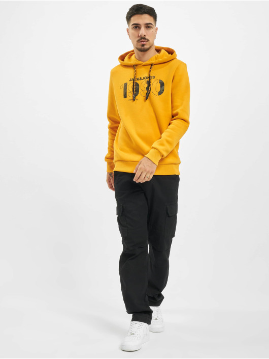 Jack & Jones Hoodie jcoRad orange