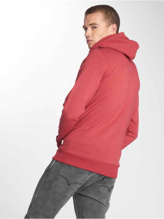 Jack & Jones Hoodie jjeLogo Two Color red