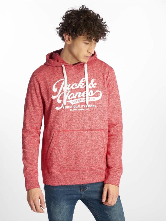 Jack & Jones Hoodie jjePanther red