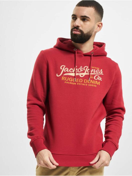Jack & Jones Hoodie jprBlustar red
