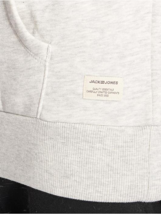 Jack & Jones Hoodie jjeJeans white