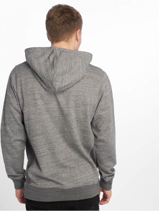Jack & Jones Hoodies jjeSpace šedá