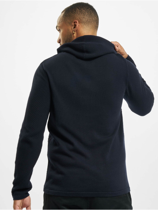 Jack & Jones Hoodies jjBronco Knit blå