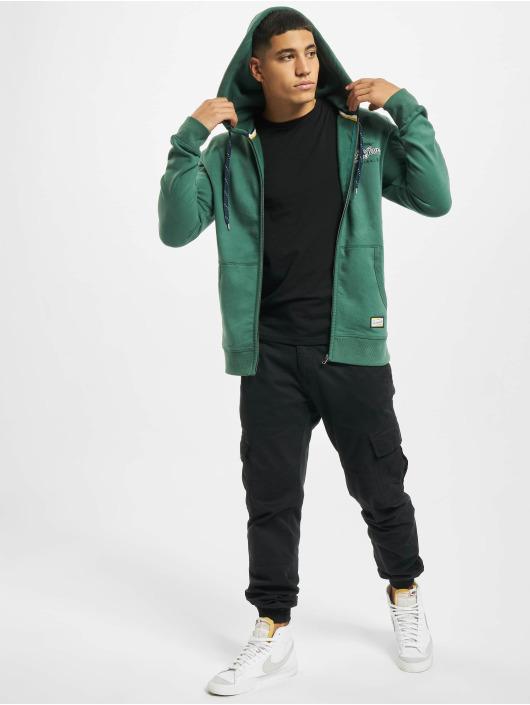 Jack & Jones Hoodies con zip jorLars verde