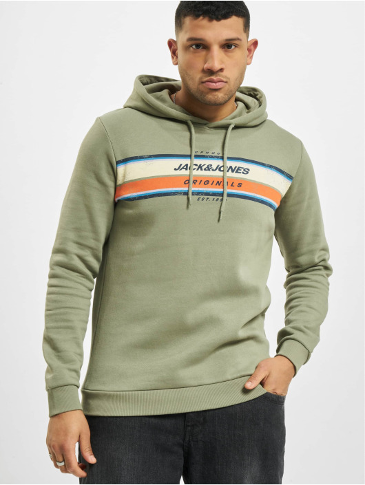 Jack & Jones Hoodies jorTylers oliven