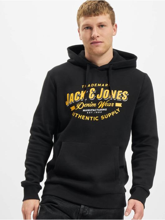 Jack & Jones Hoodies Jjelogo sort