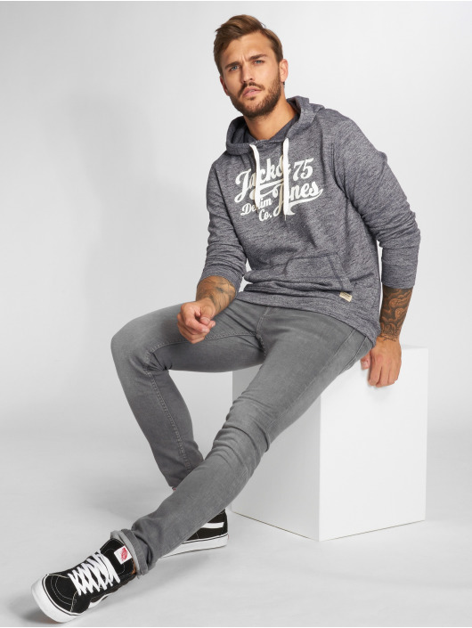 Jack & Jones Hoody jjePanther blau
