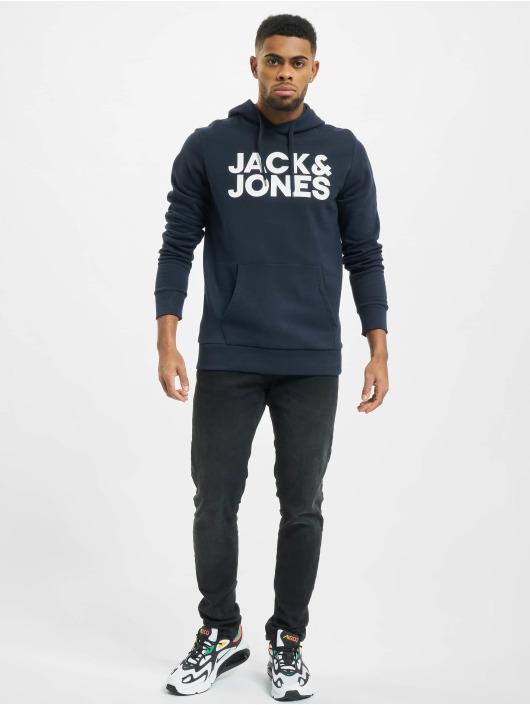 Jack & Jones Hoody jjeCorp Logo Noos blau