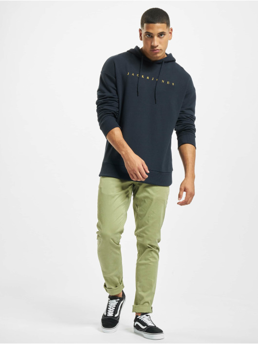 Jack & Jones Hoody jorEasty blau