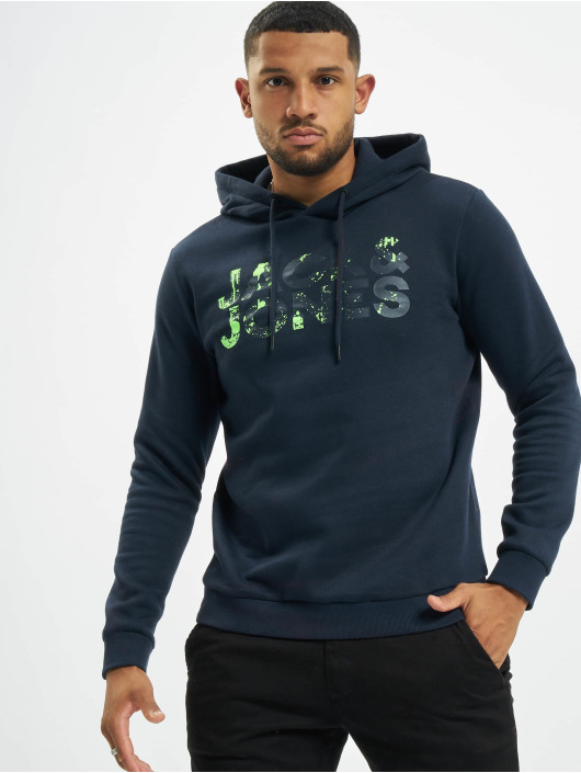 Jack & Jones Hoody jSplash blau