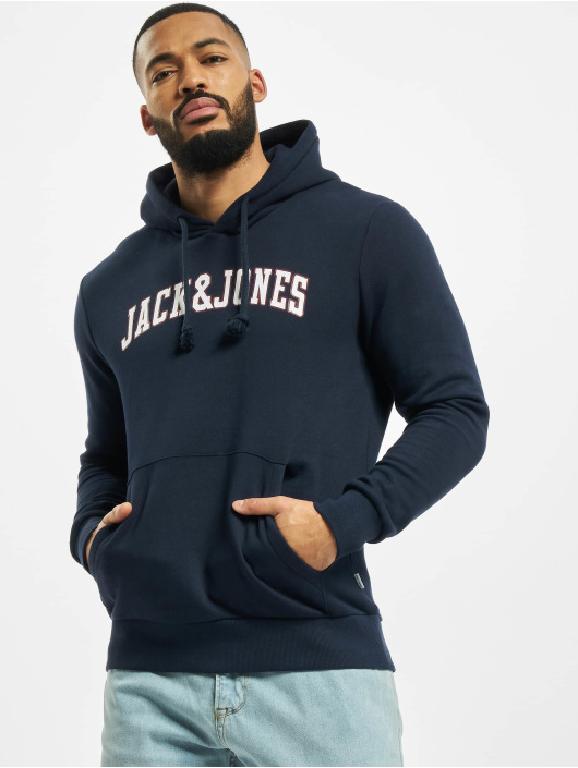 Jack & Jones Hoody jjCrossing blau