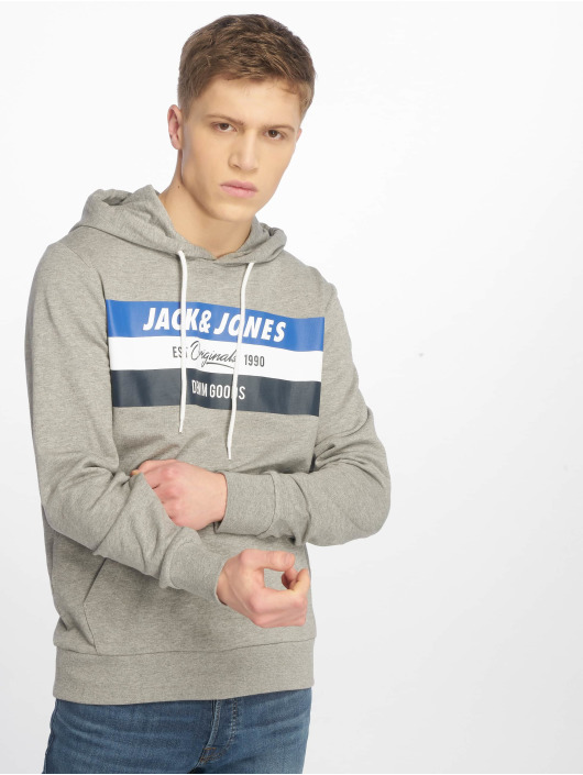 Jack & Jones Hoody jorShakedowns grau