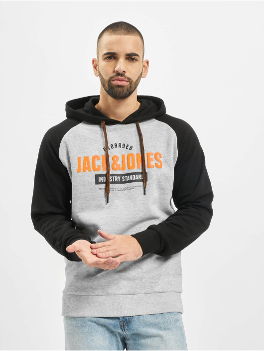 Jack & Jones Hoody jcoFranklin grau