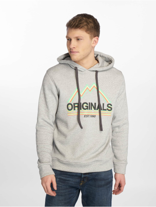 Jack & Jones Hoody jorMonument grijs