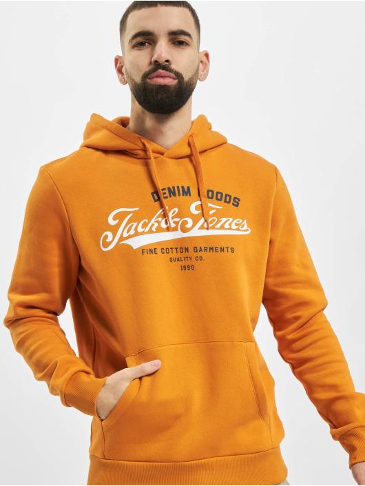 Jack & Jones Hoody jjeLogo orange