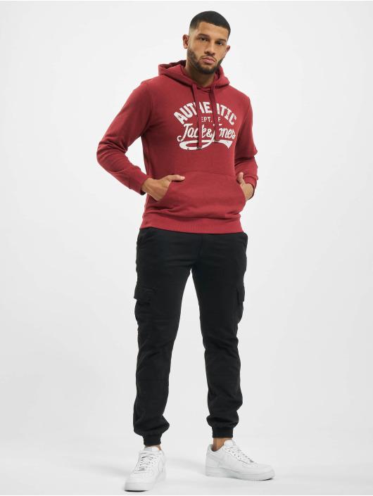 Jack & Jones Hoody jjJeanswear rot