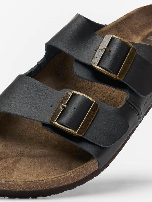 Jack & Jones Japonki jfwCroxton Leather czarny