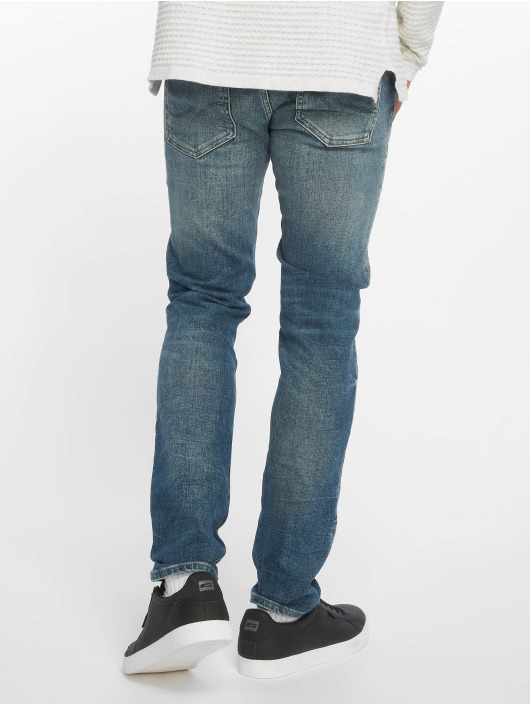 73687360da2f45 Jack & Jones jjiGlenn jjOriginal Slim Fit Jeans Blue Denim
