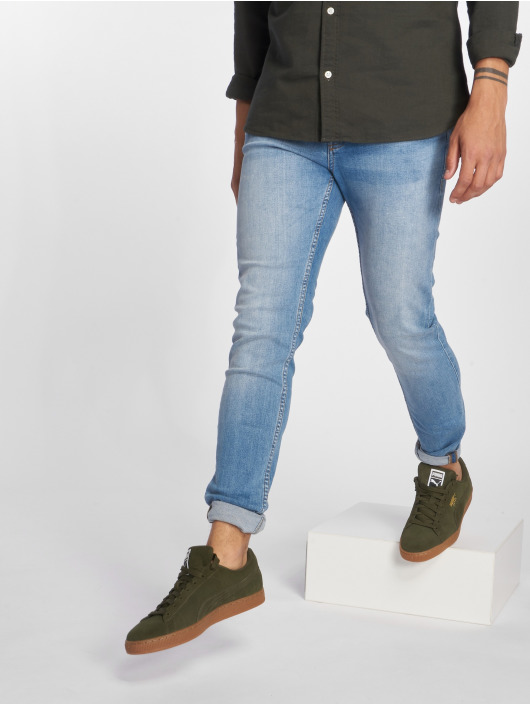 Jack & Jones Jean slim jiGlenn jjOriginal NZ003 bleu