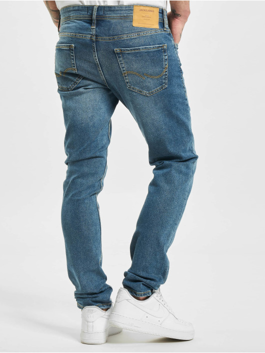 Jack & Jones Jean slim jjiGlenn jjOriginal NA 033 bleu