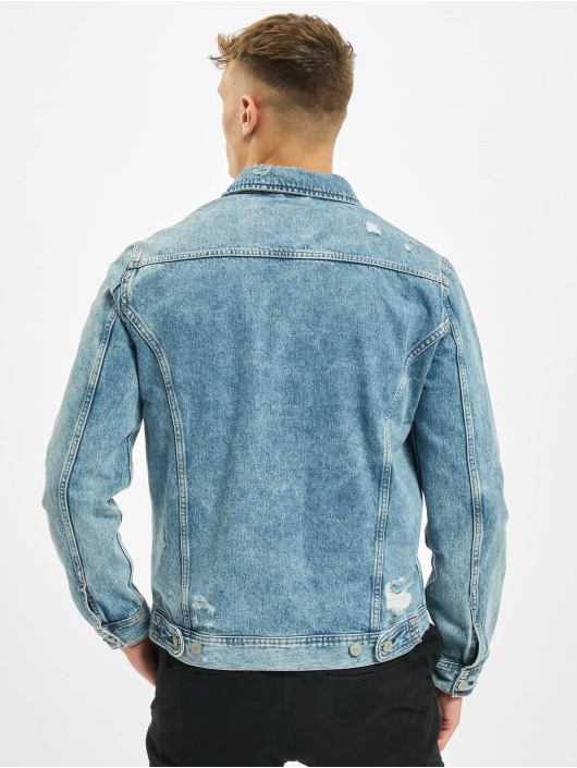 Jack & Jones Jeansjacken jjiJean jjJacket Agi 048 blau