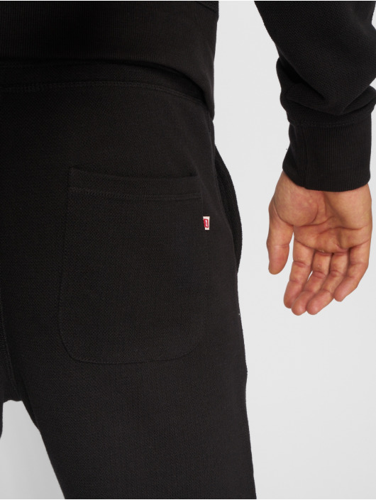 Jack & Jones Jogging kalhoty jjePique čern
