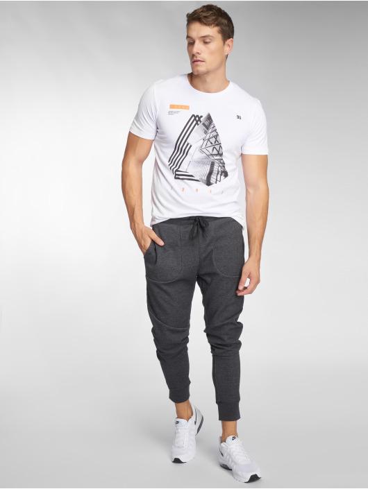 Jack & Jones Jogging kalhoty jcoNewwill šedá