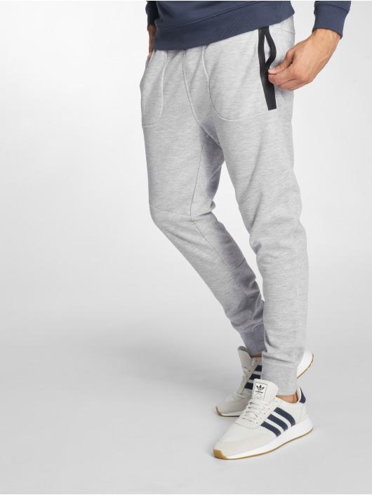 Jack & Jones Jogging kalhoty jcoNewwill Sweat šedá