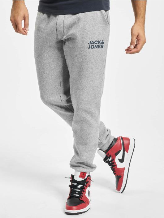 Jack & Jones joggingbroek Jjigordon Jjnewsoft grijs