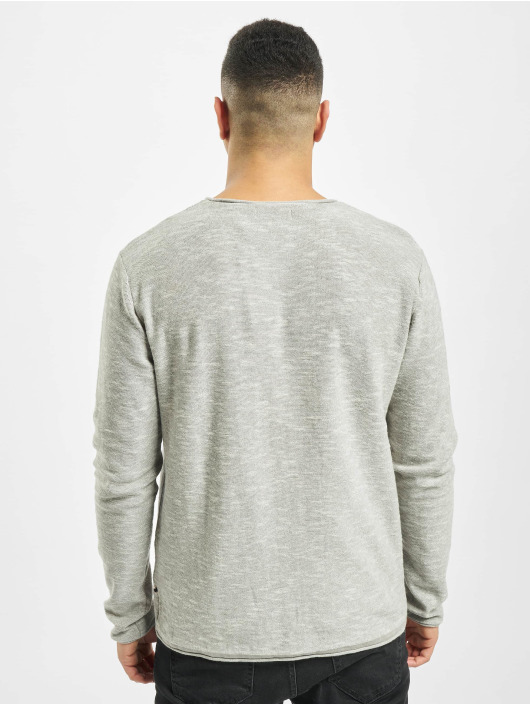 Jack & Jones Jumper jjeSlub grey