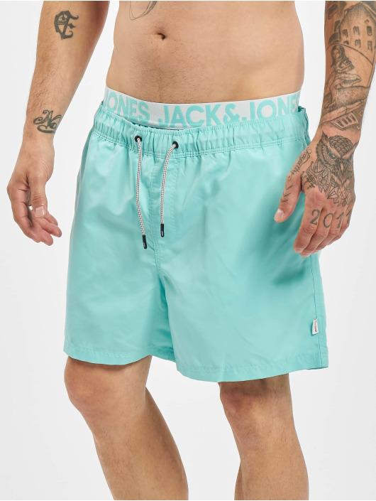 Jack & Jones Kúpacie šortky jjiAruba jjSwim AKM DB WB Solid Swim modrá