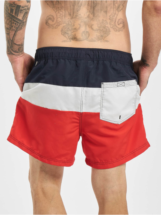 Jack & Jones Kúpacie šortky jjiAruba jjSwim AKM Color Block Swim modrá