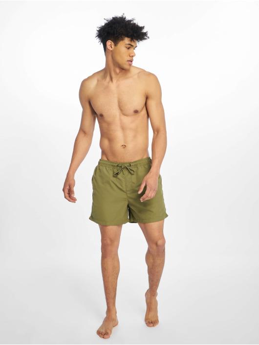 Jack & Jones Kúpacie šortky jjiCali jjSwim olivová