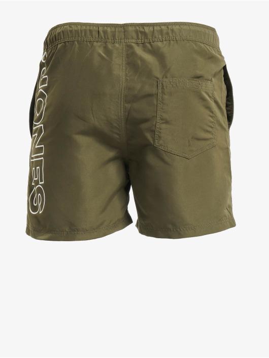 Jack & Jones Kúpacie šortky jjiAruba jjSwim AKM Jones STS olivová