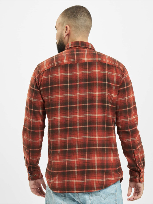Jack & Jones Košele jprBlujamie One Pocket hnedá