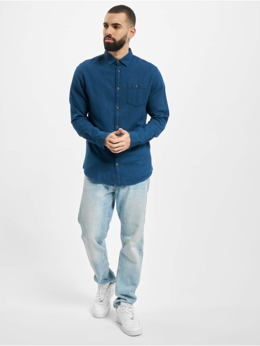 Jack & Jones Koszule jorJefferson Indigo niebieski