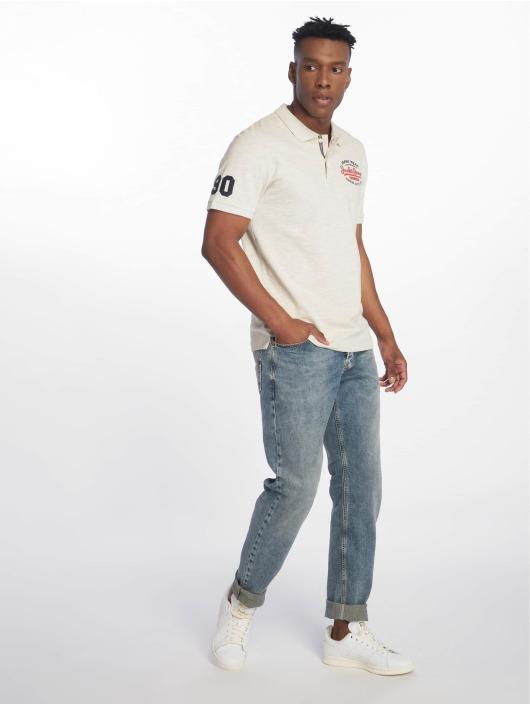 Jack & Jones Koszulki Polo jjeJeans bialy