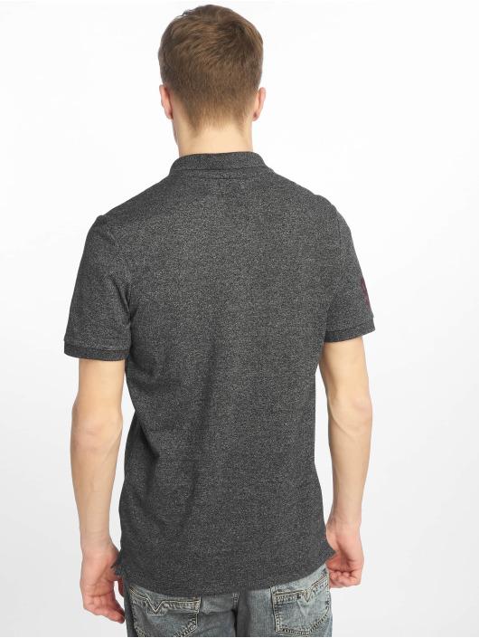 Jack & Jones Koszulki Polo jjeJeans czarny