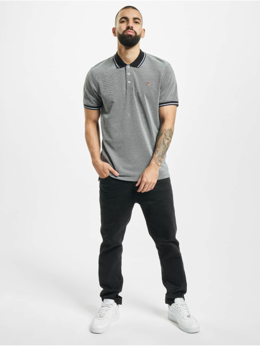 Jack & Jones Koszulki Polo jprBluwin czarny