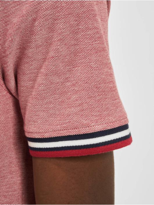 Jack & Jones Koszulki Polo jjePaulos Noos czerwony