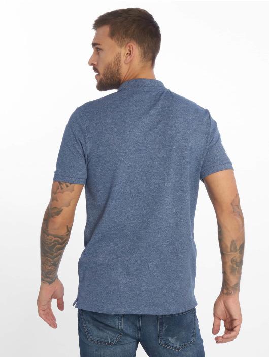 Jack & Jones Koszulki Polo jjeJeans niebieski