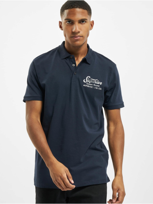 Jack & Jones Koszulki Polo jprBlurugged Polo niebieski