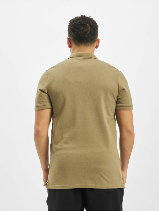 Jack & Jones Koszulki Polo jjeBasic Noos zielony