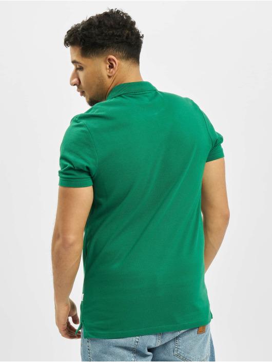 Jack & Jones Koszulki Polo jjeBasic Noos Polo zielony
