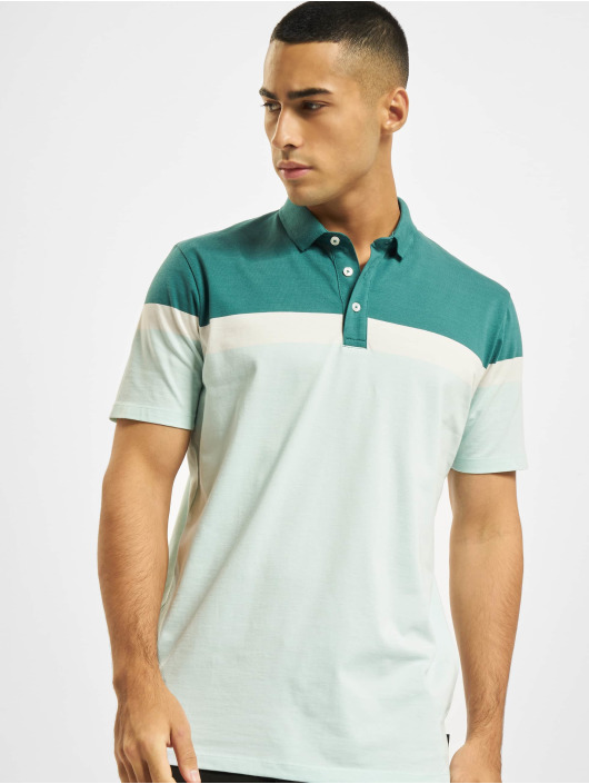 Jack & Jones Koszulki Polo Jprblarepeat zielony
