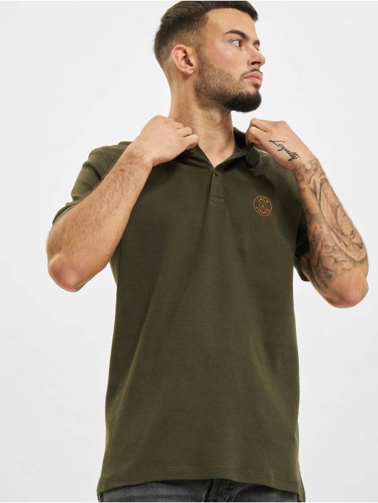 Jack & Jones Koszulki Polo Jjejersey Chest zielony