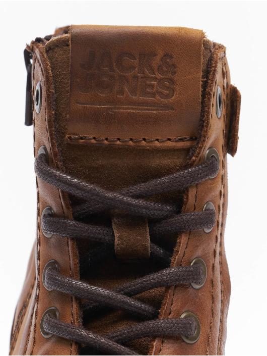Jack & Jones Kozaki Jfwangus Leather brazowy