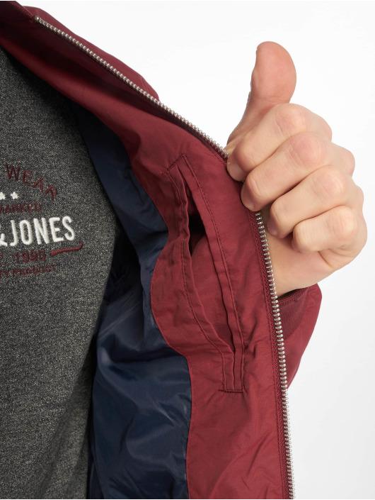 Jack & Jones Kurtka pilotka jjePacific czerwony
