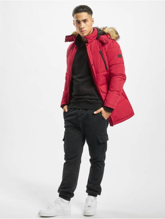 Jack & Jones Kurtki pikowane jcoMario czerwony