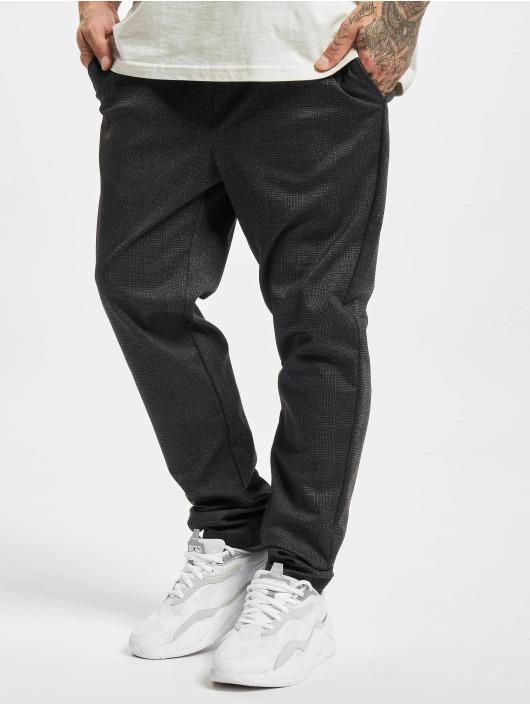 Jack & Jones Látkové kalhoty Jjiwill Jjphil čern